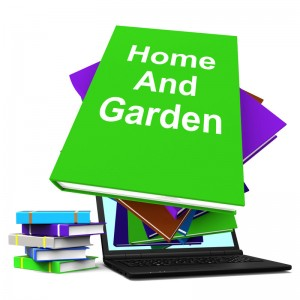canstockphoto21600650 Home and Garden books w laptop
